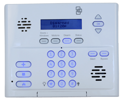 Simon-XT-Keypad-Control-Panel