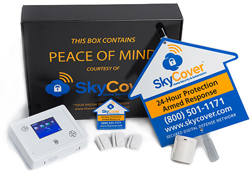 Home security smart package - whats in the box
