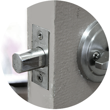 strengthened doors can assist with home security